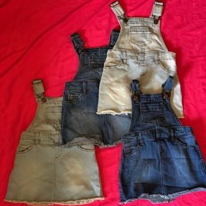 Overall/Jumper skirts